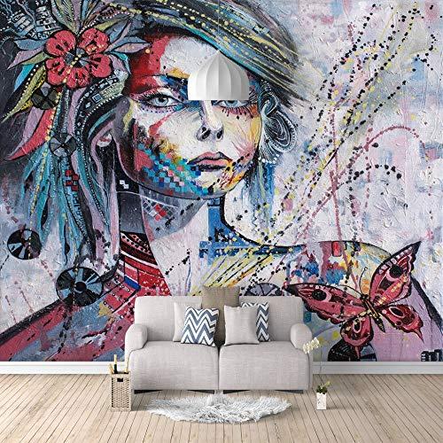 Fotobehang op canvas voor kinder-, slaap- en woonkamer 400cm(W) x200cm(H)-8 Stripes