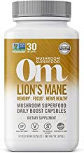 product image for Om Organic Mushroom Nutrition Lion's Mane Mushroom Superfood Daily Boost Capsule, 90 Count