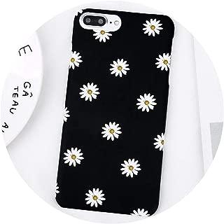 ファッションデイジーフラワーペイント電話ケースのためのiphone x 8 7 6 6 sプラス5 5 s se超薄型ハードpcバックカバーのためのiphone 7プラス,T1,For iPhone 8