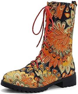 Bottes Color Martin - Grandes tailles - Chaussures décontractées en tissu