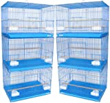 YML Petites Cages d'élevage, Lot de 6