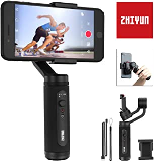 Zhiyun Smooth-Q2 (Official Dealer) 3-axis Smartphones Gimbal Stabilizer, Vortex/POV Mode, 260g Payload, Zhiyun-Smooth-Q2-phone-gimbal-stabilizer