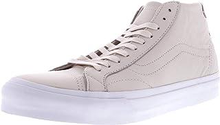 Vans Court Mid Dx Leather Ankle-High Canvas Skateboarding Shoe Black