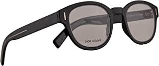 Christian Dior Homme DiorFractionO3 Eyeglasses 47-24-150 Black w/Demo Clear Lens 807 FractionO3