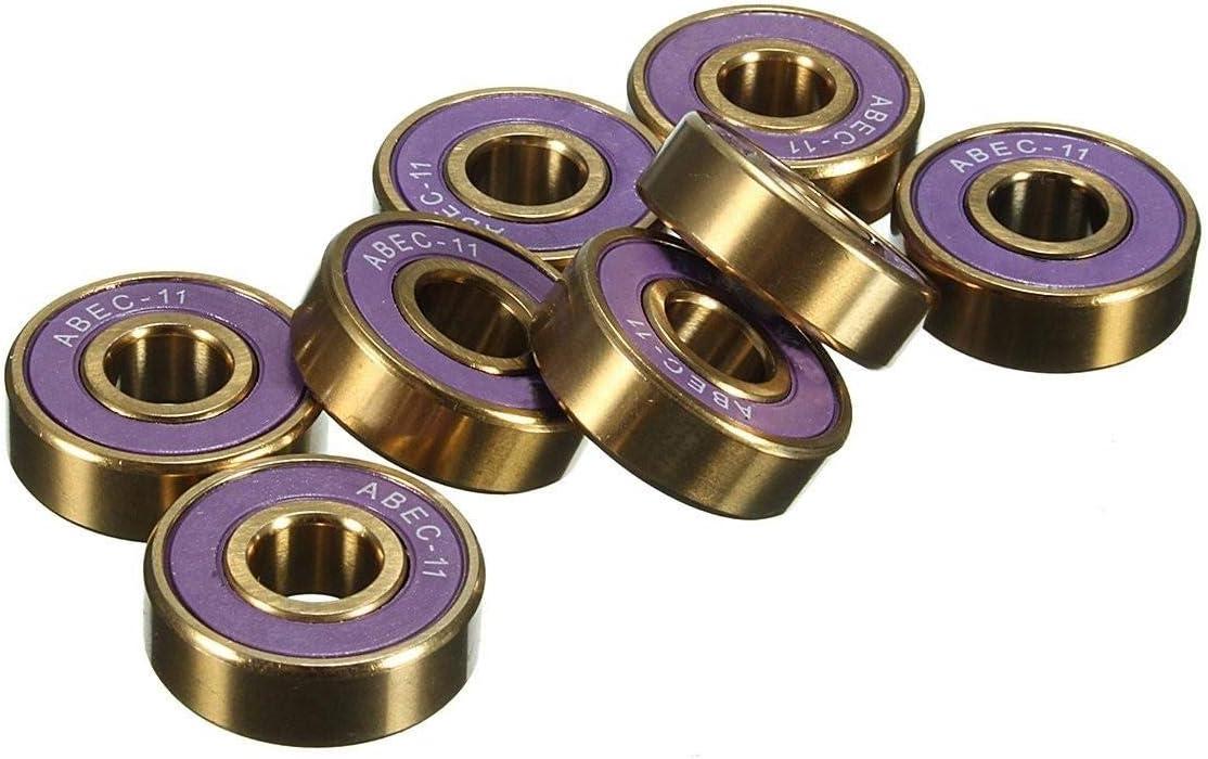 Bearing Tool Accessories 8pcs ABEC Sleeve Dallas Mall Pur supreme Shaft Skateboard 9