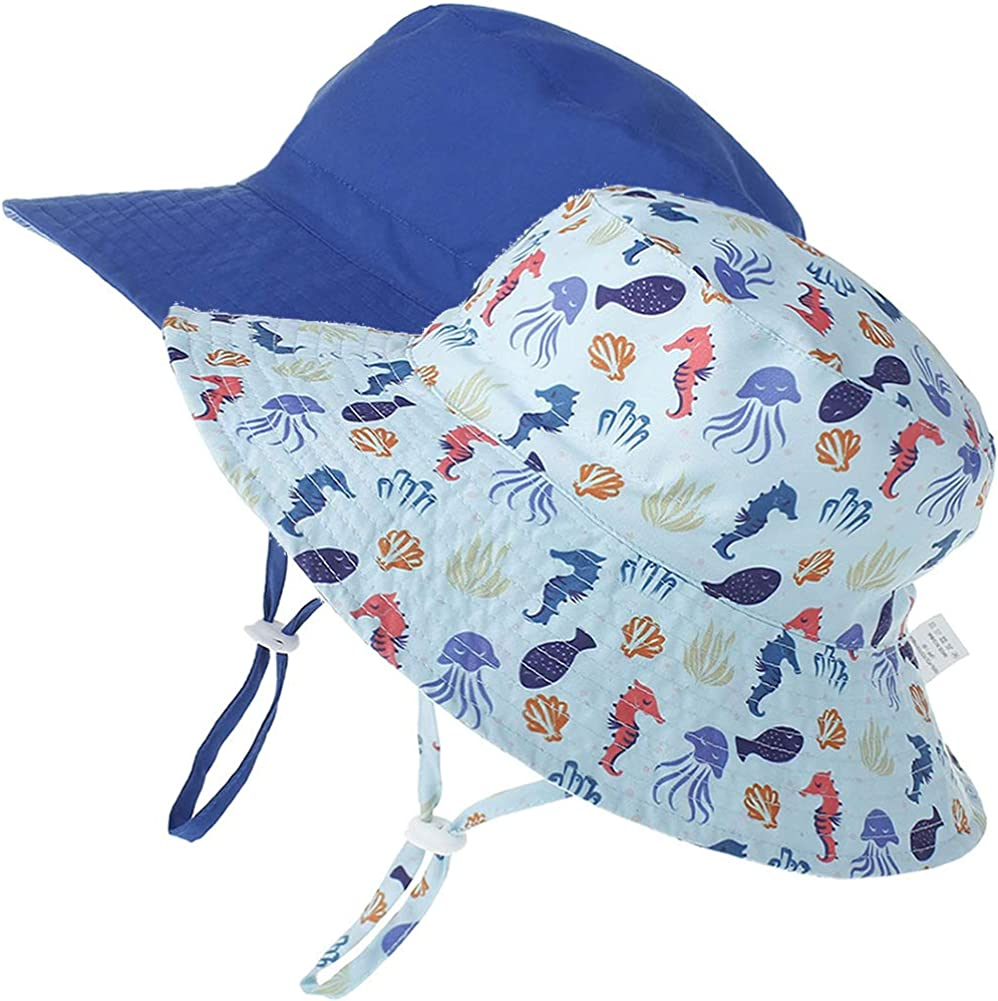 for Baby Boys 3 Months-7years Paladoo Baby Sun Hat Toddler Bucket Hat Kids Summer Beach Hats UPF 50
