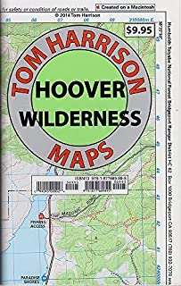 By Tom Harrison Hoover Wilderness Region Trail Map: Twin Lakes, Lundy Lake, Bridgeport, Green Creek, Virginia Lakes, (3rd Edition)