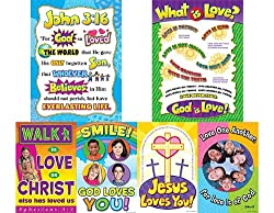 God is Love Bulletin Board Display Set