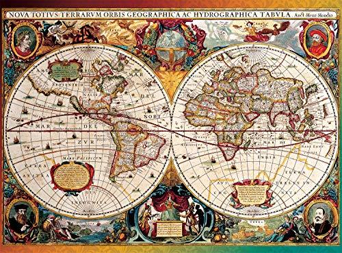 Buffalo Games - Antique Map - 1000 Piece Jigsaw Puzzle