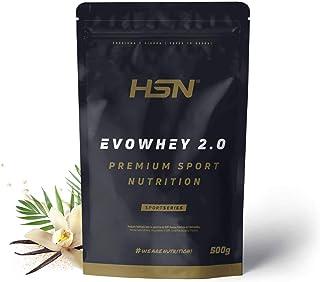 HSN EVOWHEY 2.0 (Whey Protein) - 500G | 23G Protein | 5.5 g BCAA's | 4 g Glutamine | From Grass Fed Cows Milk | Preservati...