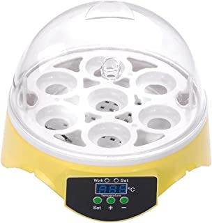 X-Treat Heating & Cooling Equipment Mini 7 Egg Hatchery Incubators & Accessories Built-in Fan Chicken Poultry Bird Brooder...