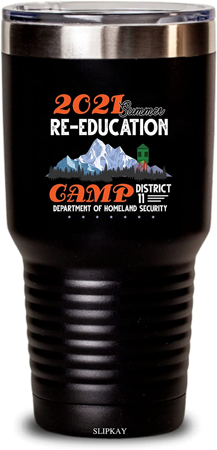 Summer Re-education Camp 2021 Bombing free shipping Tumbler Gifts 30oz Popular standard