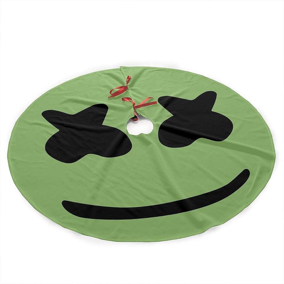ホイットニー効果暴露するメロスマイル クリスマスツリーのスカートのカーペットパーティーはあなたのクリスマスツリーを飾る長い