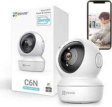 EZVIZ ネットワークカメラ ペットカメラ アレクサ対応 1080P 防犯カメラ 自動追跡 Wi-Fi 見守り 日本語説明書 C6N