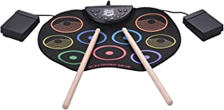 USB Colorful Hand Roll Electronic Drum Children Percussion Instrument High Quality