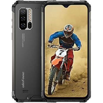Ulefone Armor 7(2020) Rugged Phones Unlocked, 4G Rugged Cell Phones Unlocked Android 9.0 8GB +128GB,48MP+16MP+8MP Camera, 6.3' FHD Dual Sim Rugged Smartphone Waterproof 5500mA, NFC, Wireless Charge