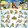 WICKEY Parco giochi in legno Smart Treetop Giochi da giardino con altalena e scivolo, Casetta arrampicata da gioco per bambini #5