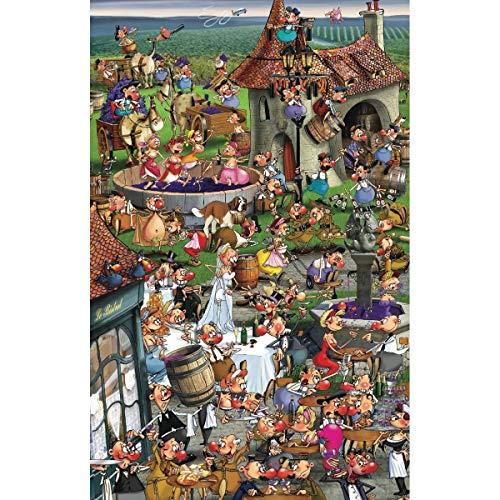 Piatnik Story of Wine 1000 Piece Jigsaw Puzzle (F. Ruyer)