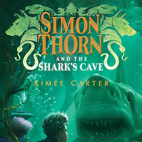 Simon Thorn and the Shark's Cave audiobook cover art