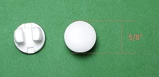 Asia Buy Horizontal Blinds Plastic Bottom Rail Ladder Cord Button Plug 1/2