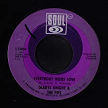 stepping closer to my heart / everybody needs love 45 rpm single