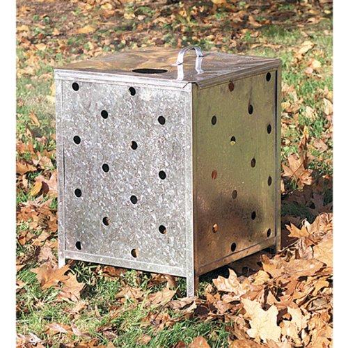 Parasene Garden - Inceneritore quadrato con coperchio
