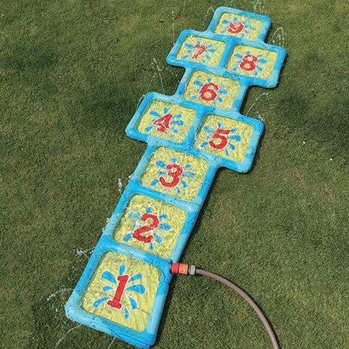 Speelgoed Hinchable Números hickelk asten con Agua Conector