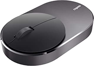 Rapoo Laser Mouse Wireless,Black,M600
