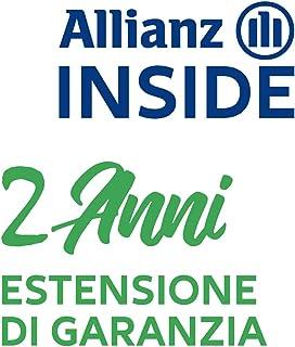 Allianz Inside, 2 Anni Garanzia estesa per Elettrodomestico per la Pulizia è compreso tra 100,00€ e 149,99€