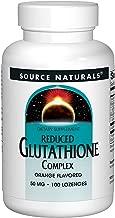 Source Naturals Glutathione Complex Orange Flavored, 50mg, 100 Tablets