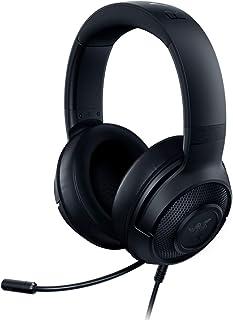 هدست مخصوص بازی Razer Kraken X Ultralight: 7.1 Surround Sound Capable - قاب سبک - میکروفون Cardioid قابل انعطاف - برای کامپیوتر ، Xbox ، PS4 ، نینتندو سوییچ - مشکی (تمدید شده)