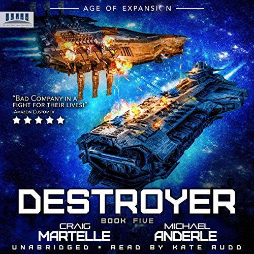 Couverture de Destroyer: A Military Space Opera