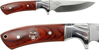 Elkridge 4.5 Straight Back Fixed Blade Knife Full-Tang Bolster - Choose Your Design