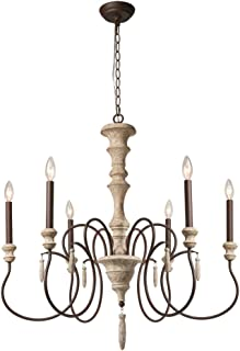 Best french wood chandelier Reviews