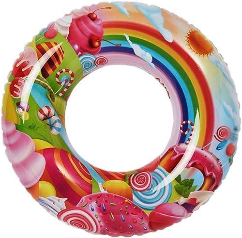 FJIE Flotteur Gonflable De PVC, Rangée Flottante De FlotteHommest d'amuseHommest De Jouet De Mer De Piscine De Salon D'anneau De Bain Créatif