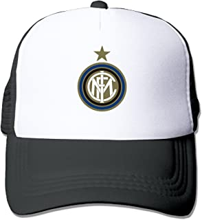 Trucker Inter Milan Soccer Club Adjustable Mesh Back Baseball Cap