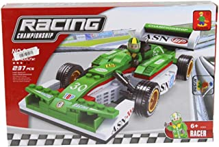 ausini Racing Car Shaped Building Blocks - 237 Pieces