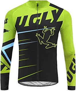 Uglyfrog 2019 New Winter Thermal Cycling Jersey Long Sleeves Spring/Autumn MTB Tops with Fleece