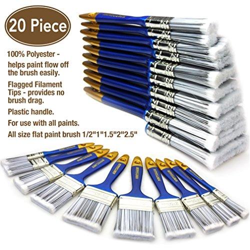 20 Piece Premium Paint Brush,Paint Brushes Set,Paint Brushes, paintbrushes,Paintbrush,Multi use,multitools,Home Repair Tools,Tool Set,Tool kit,Home Tool kit