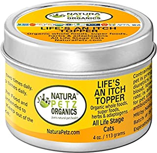 Natura Petz Organics Life's an Itch Allergy Flavored Meal Topper for Cats