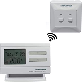 COMPUTHERM Q7RF termostato digital inalámbrico programable de interiores para calefacción, aire acondicionado y suelo radi...