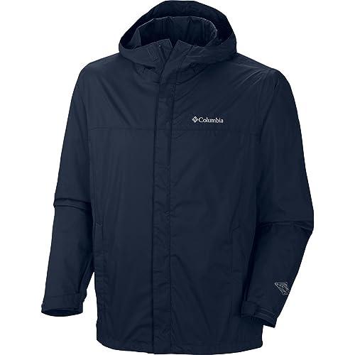 719274673898 Columbia Men s Watertight II Front-Zip Hooded Rain Jacket