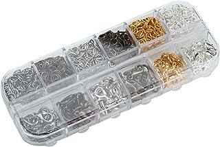Draaibare karabijnhaken, karabijnhaak Stevige hoge hardheid Open springringset, voor ketting en armband