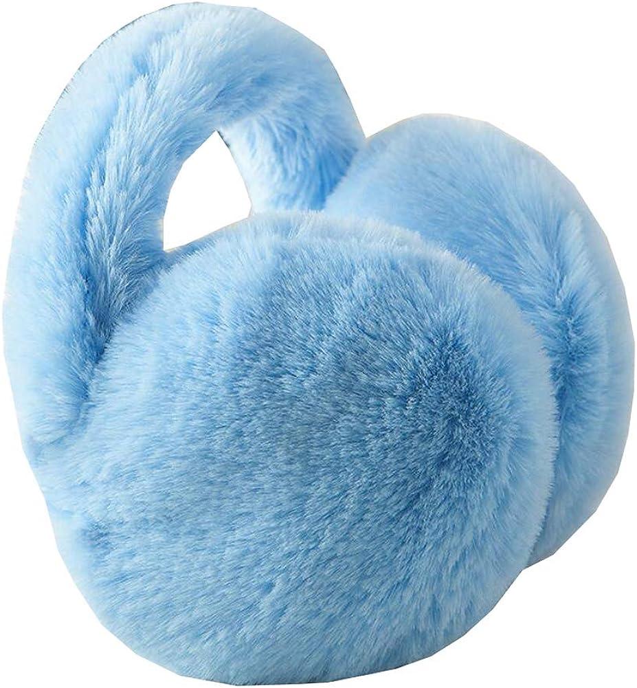 Cute Animal Soft Earmuffs Winter Warm Outdoor Ear Covers Headband Fur Ear warmer,#B11