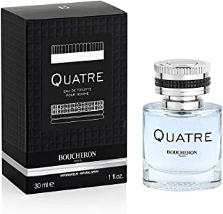 Boucheron Quatre Eau De Toilette for Men, 30 ml