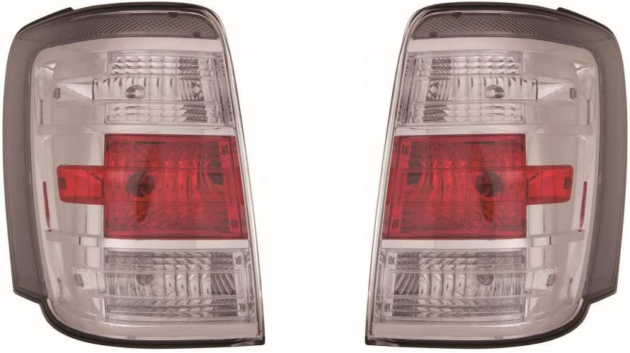 For Mercury Mariner Tail Light 2008 09 バーゲンセール 2011 Driver P 10 and ご予約品 Pair