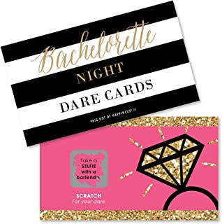 Big Dot of Happiness Girls Night Out - Bachelorette Party Game Scratch Off Cards - 22 Count