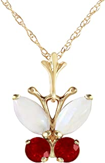 Best 14k gold butterfly pendant Reviews