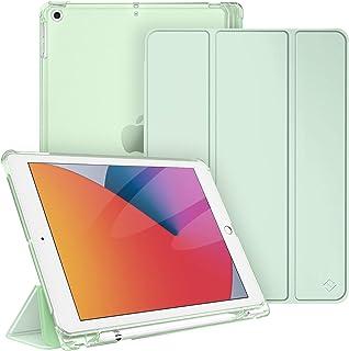 Fintie Fodral för iPad 9:e generationen 2021/8 Gen 2020/7. Gen 2019 10,2 tum med pennhållare, ultratunn lätt skyddsfodral ...