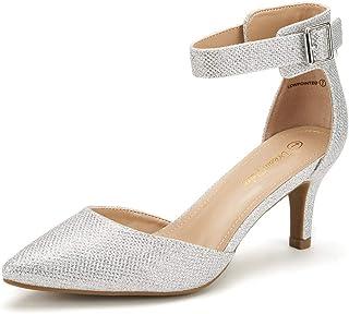 a4e9ed7a51e09f DREAM PAIRS Lowpointed Chaussures Habillées Escarpins Talons Bas pour Femme